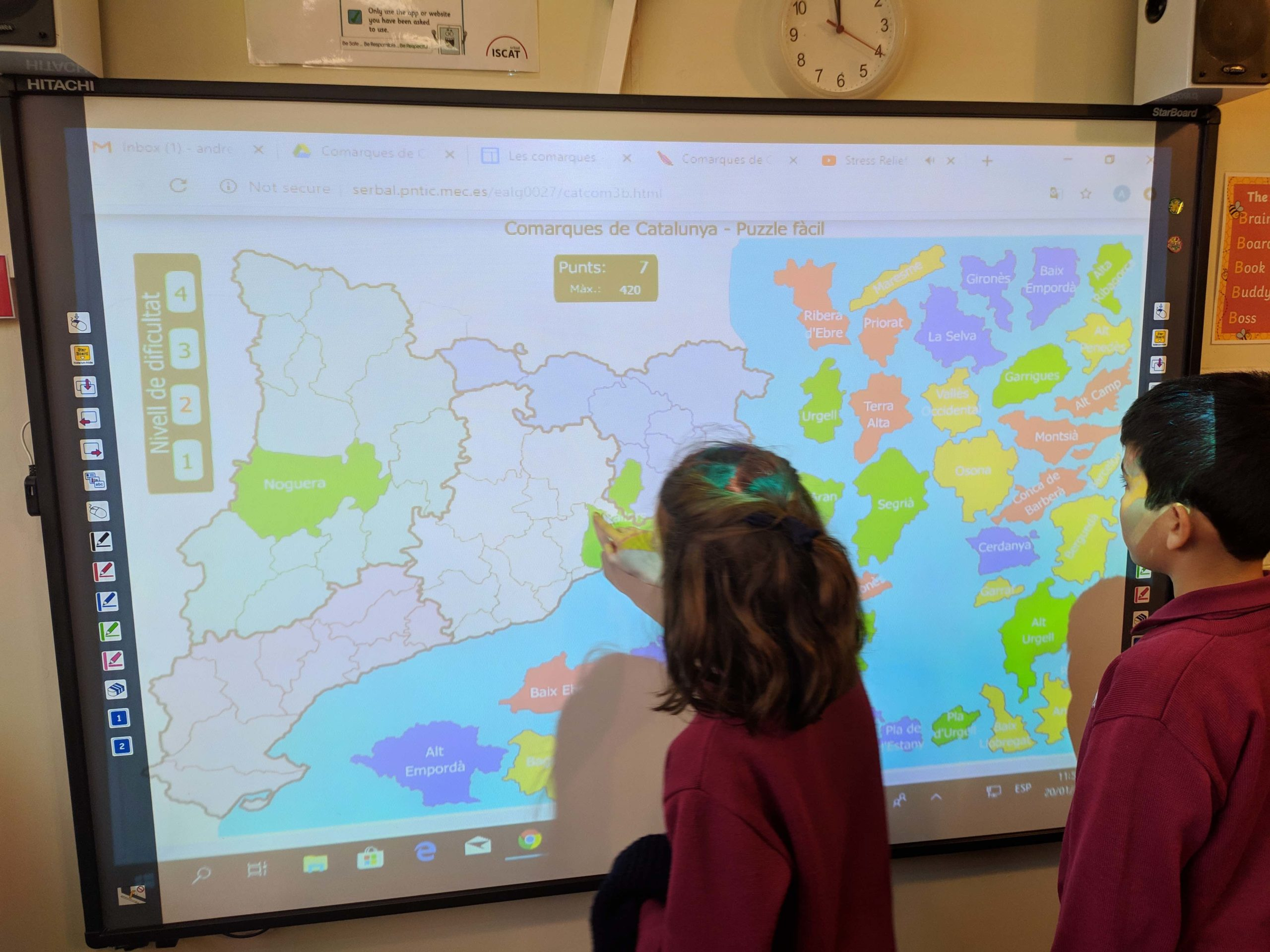 Year 6 - the physical and political geography of Catalunya