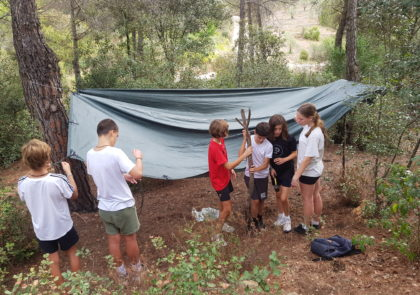 first-forest--school-session-ISCAT